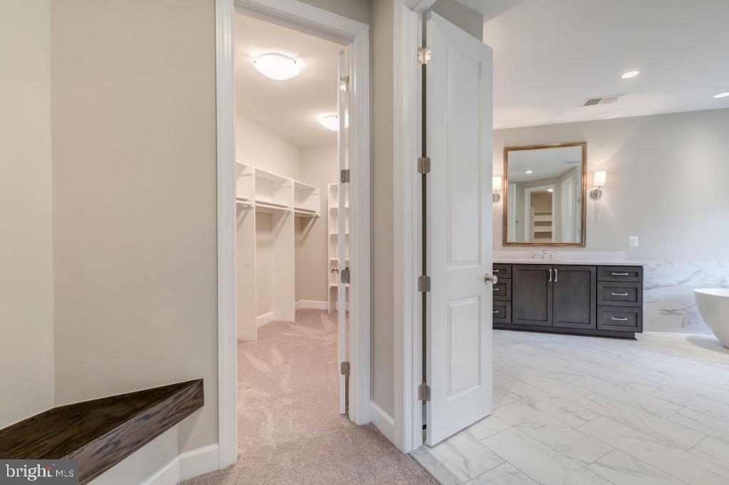 Walk in Closet, Owner's Bathroom - 10710 HARLEY RD, LORTON