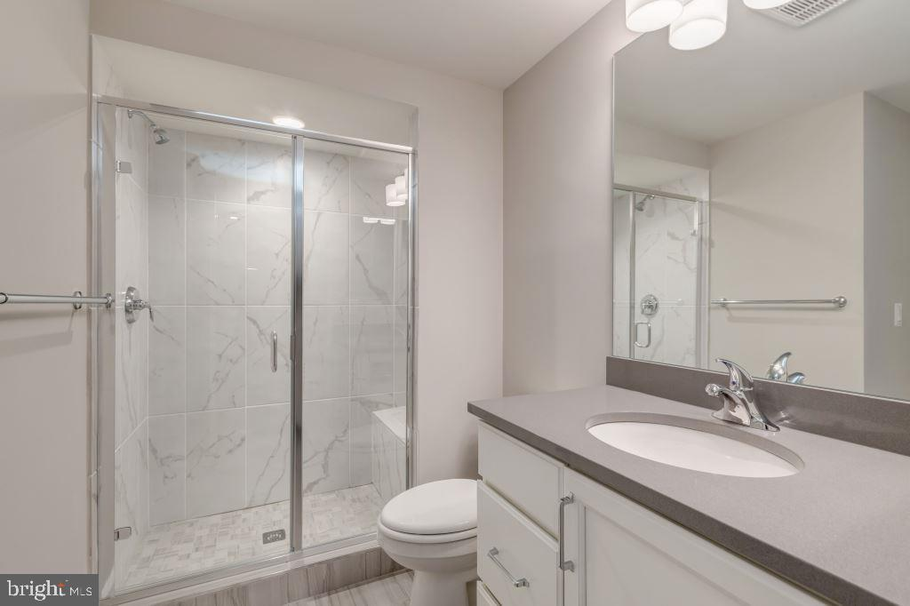 Lower Level Full Bath - 10710 HARLEY RD, LORTON
