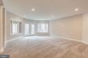 Lower Level - Recreation Room - 10710 HARLEY RD, LORTON
