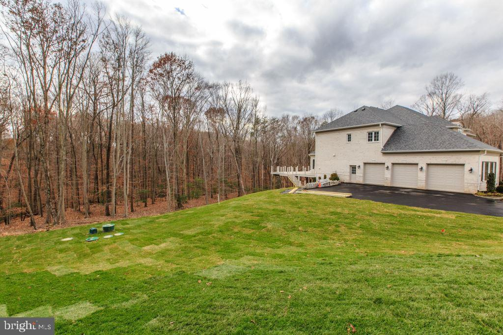 Exterior, House  Backs to woodland - 10710 HARLEY RD, LORTON