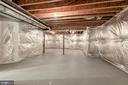 Unfinished Mechanical/Storage - 10710 HARLEY RD, LORTON