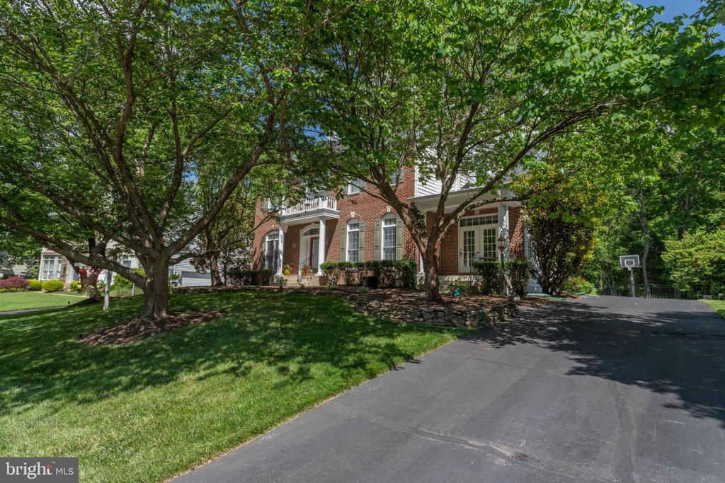 Mature landscaping with year round color - 13890 LEWIS MILL WAY, CHANTILLY