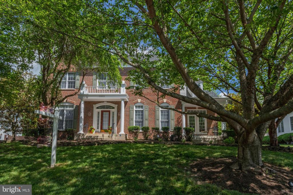 Park-like setting on quiet street - 13890 LEWIS MILL WAY, CHANTILLY