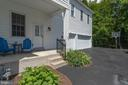3 car side load garage and covered porch - 13890 LEWIS MILL WAY, CHANTILLY