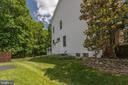 Rear fencing - 13890 LEWIS MILL WAY, CHANTILLY