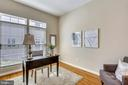 Main level study with hardwood floors - 206 ROSE PETAL WAY, ROCKVILLE