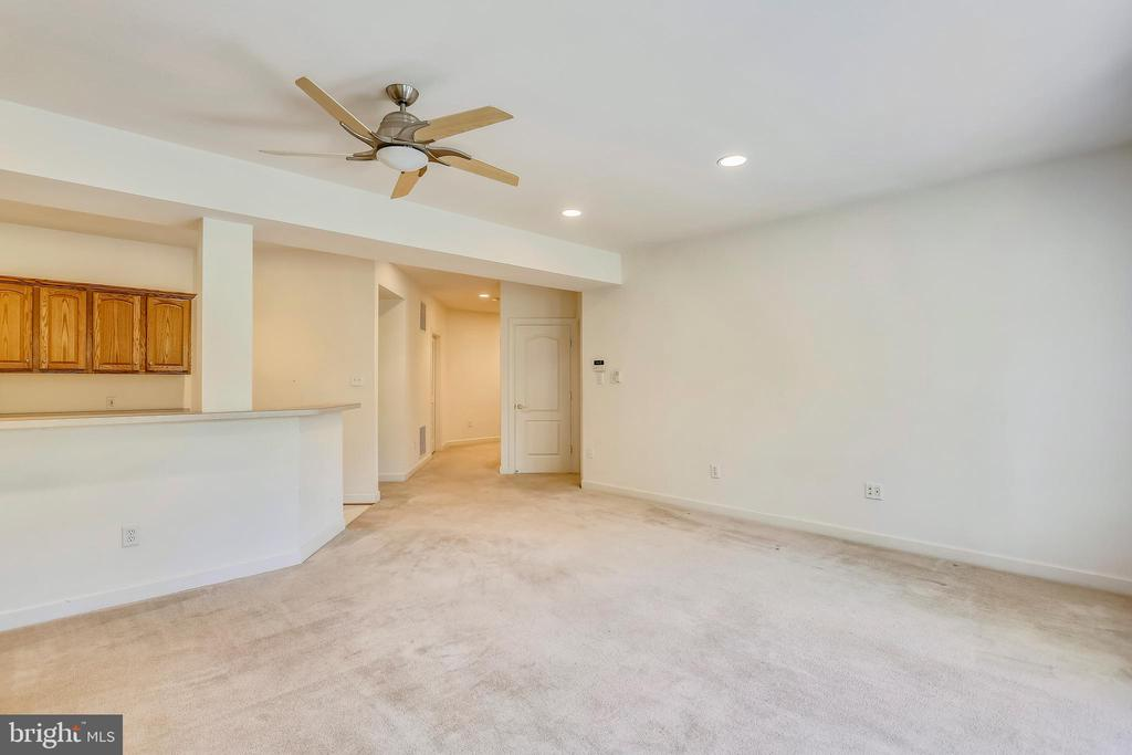 RR with Ceiling fan and recessed lighting - 206 ROSE PETAL WAY, ROCKVILLE