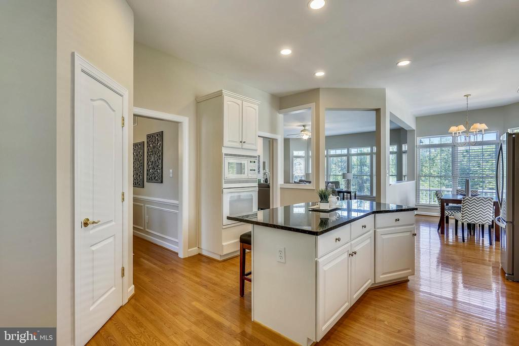 Walk in pantry and recessed lighting - 206 ROSE PETAL WAY, ROCKVILLE