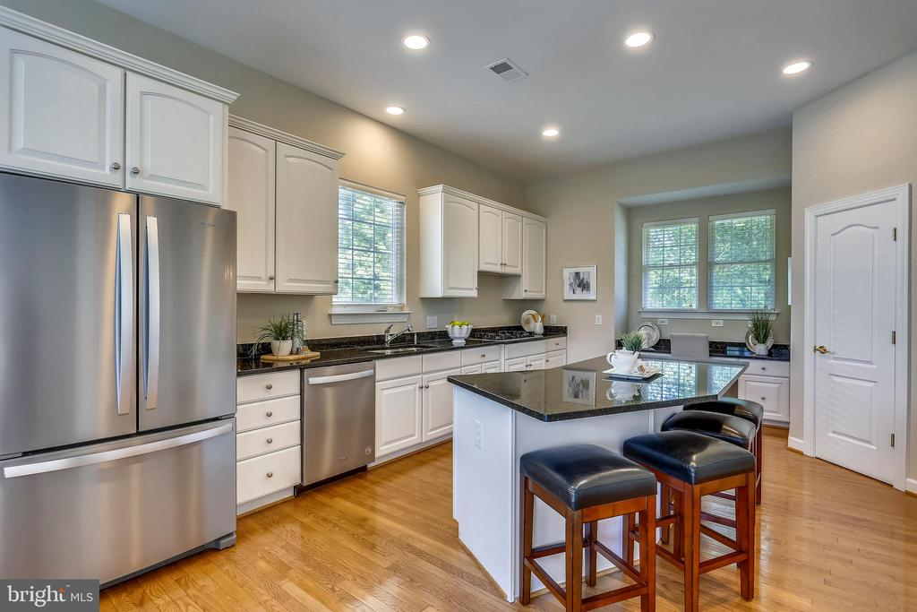 New stainless appliances and granite countertops - 206 ROSE PETAL WAY, ROCKVILLE
