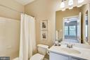 Ceramic tile full bath accessed from BR#4 - 206 ROSE PETAL WAY, ROCKVILLE