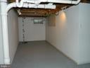 More Basement space with sump pump - 117 POLK AVE, FRONT ROYAL