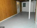 Partially Finished Basement with 1/2 Bath - 117 POLK AVE, FRONT ROYAL