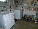 Laundry Area in Utility Room - 117 POLK AVE, FRONT ROYAL