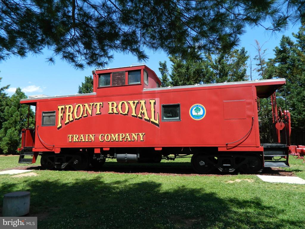 Train at Visitor's Center - 117 POLK AVE, FRONT ROYAL