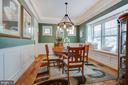 Dining Room w/ Rope Lighted Trey Ceiling - 2020 S KENT ST, ARLINGTON