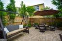 Relaxing Rear Patio - 2020 S KENT ST, ARLINGTON