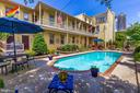 Exquisite pool and patio - 118 E CHURCH ST, FREDERICK