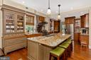Exceptional gourmet kitchen - 118 E CHURCH ST, FREDERICK