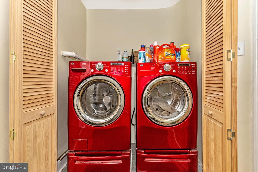 Upper Level Full Size Laundry Closet - 118 E CHURCH ST, FREDERICK