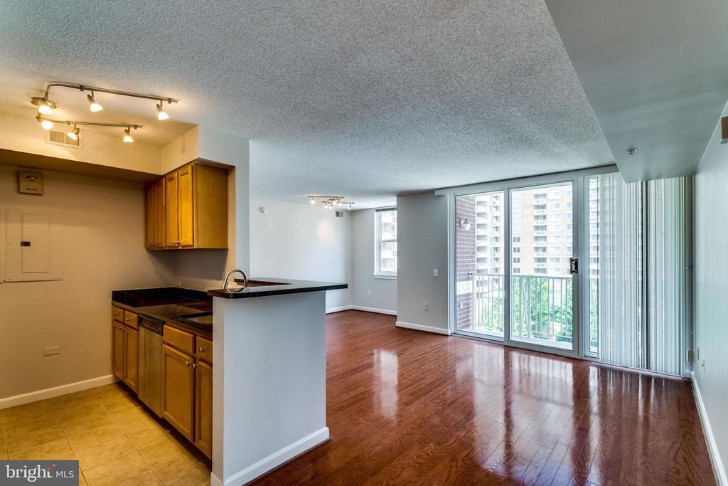 Lots of light.  Door to balcony. - 880 N POLLARD ST #602, ARLINGTON