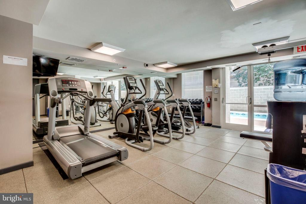 Fitness Center - 880 N POLLARD ST #602, ARLINGTON