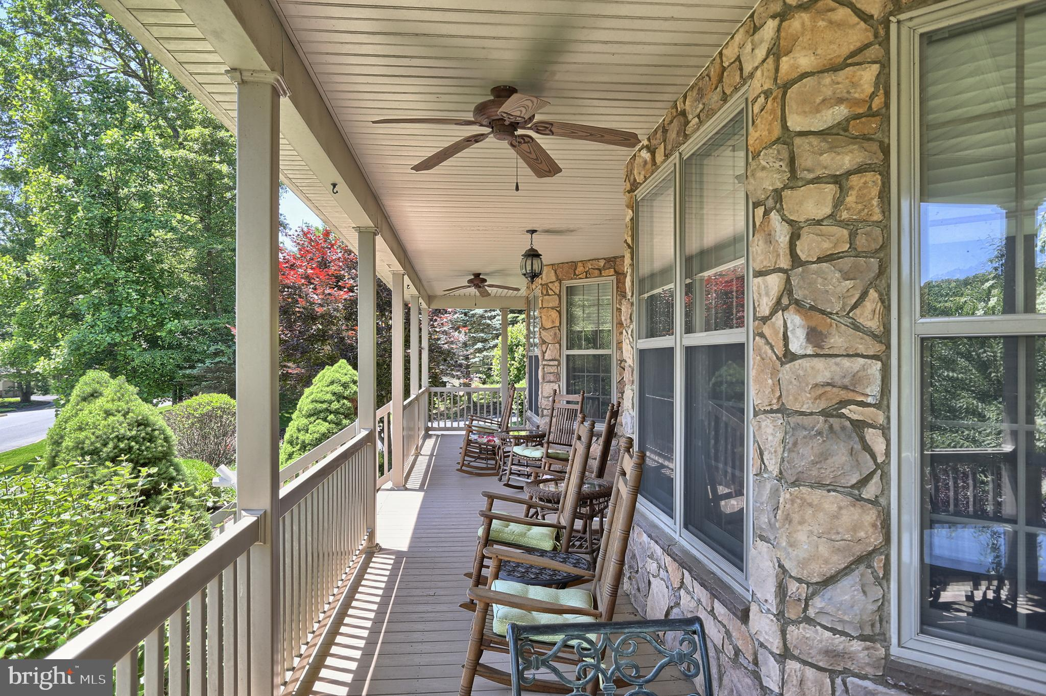 Front porch - Great place to relax or entertain