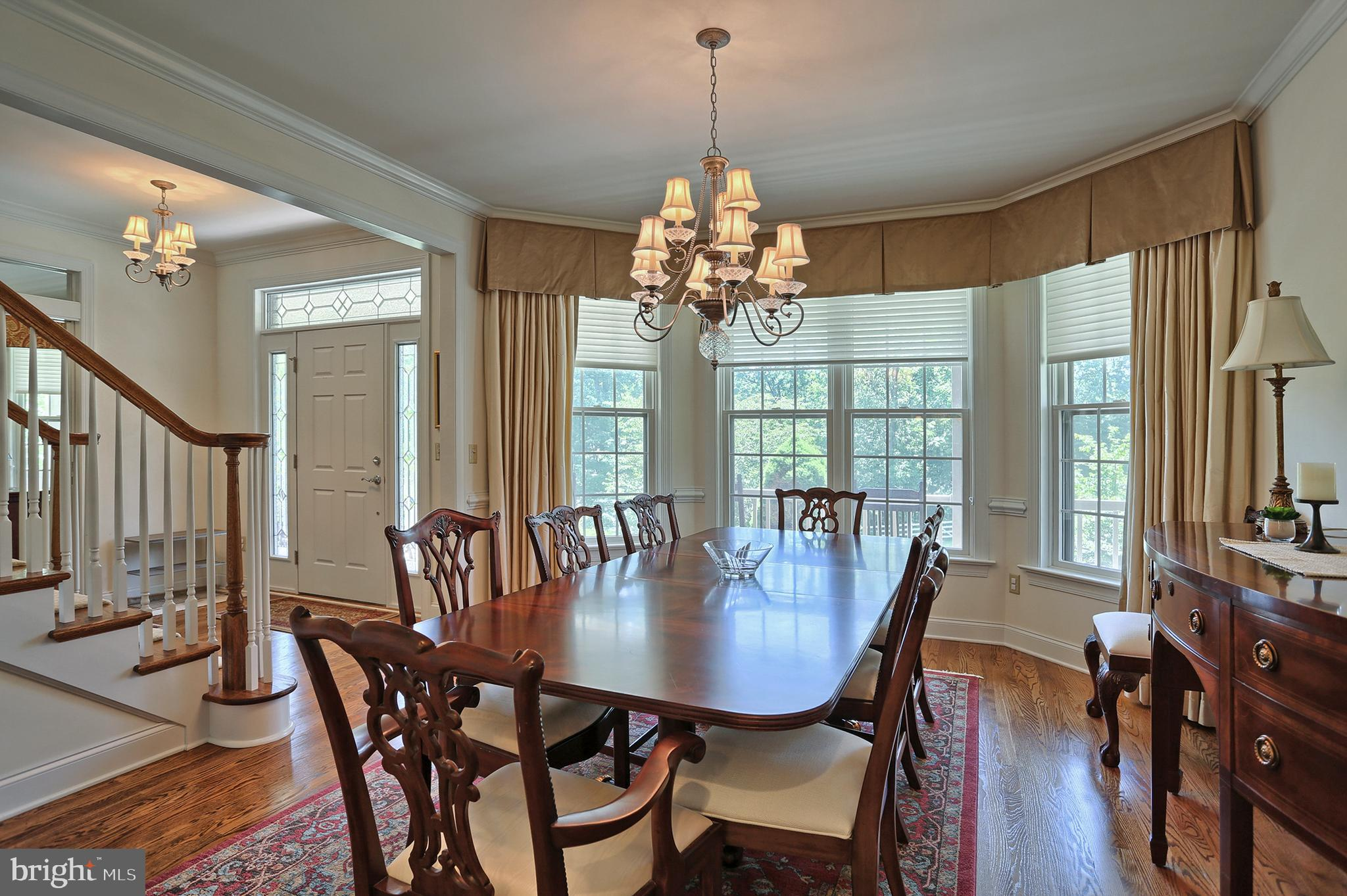 Dining Room from kitchen entry
