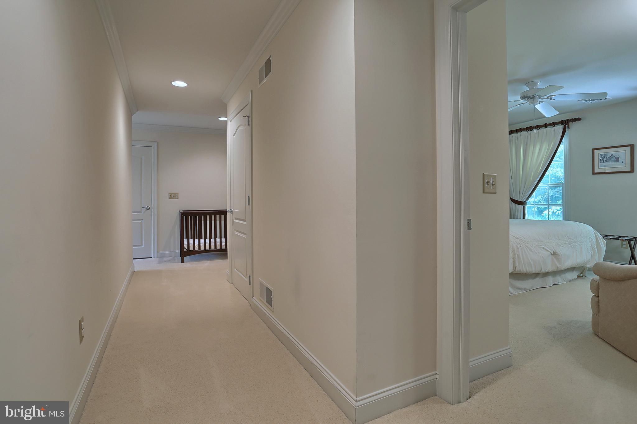 2nd floor hall to storage, elevator & 2nd stairs
