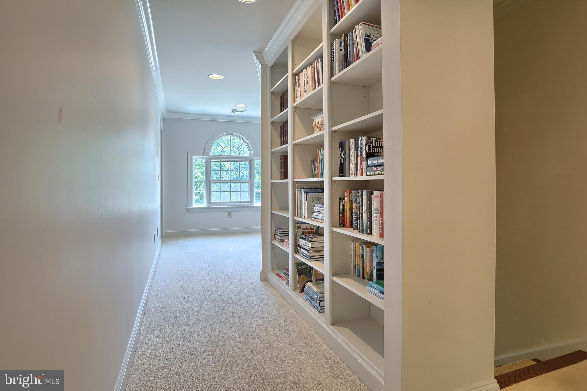 Hallway to 2nd floor Bedrooms 1 & 2