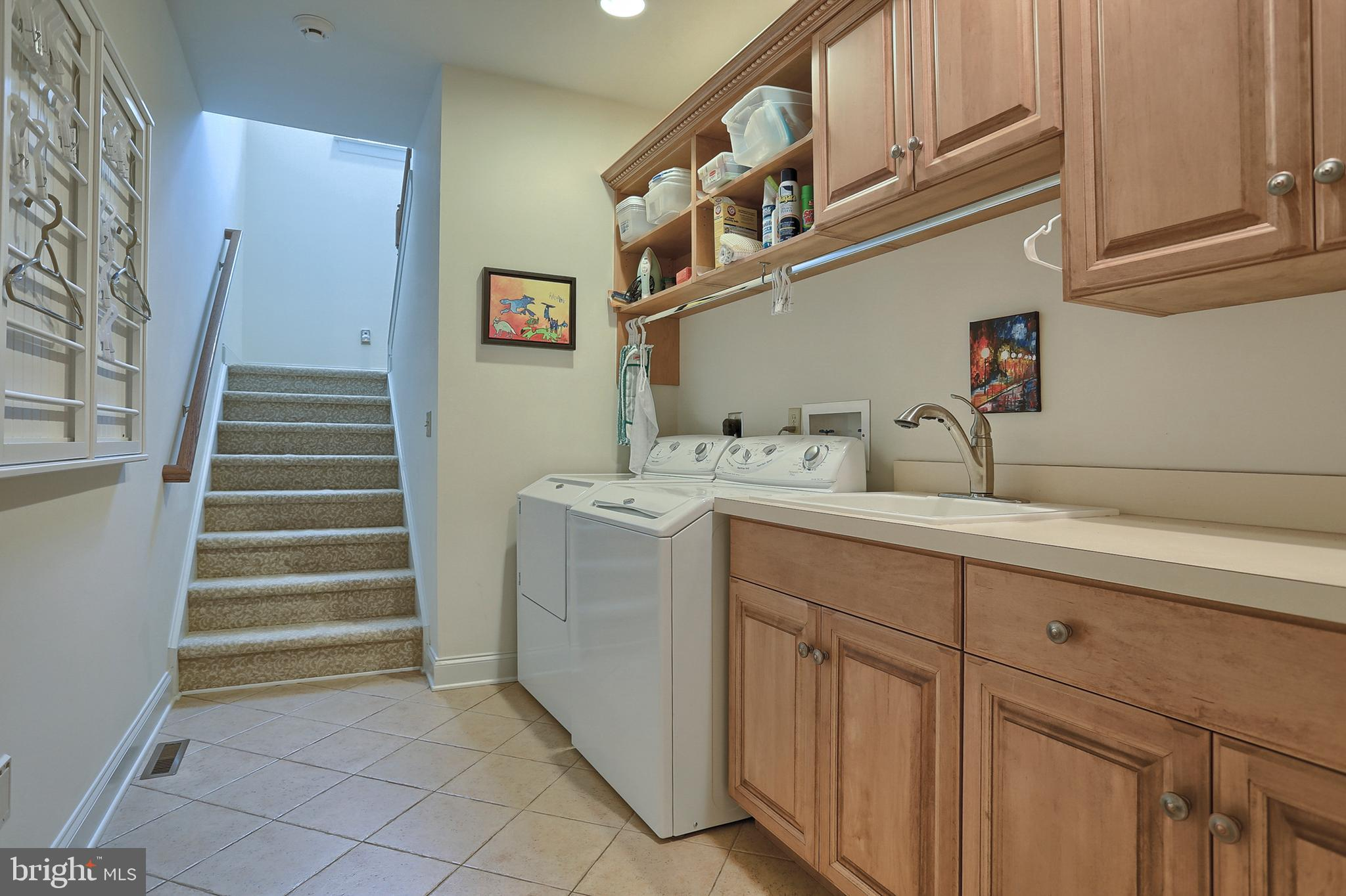 Laundry Room - Stairs to 2nd floor