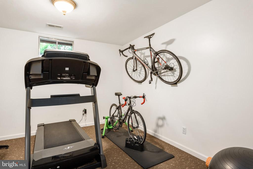 Exercise room or could be used as bedroom or study - 43365 WAYSIDE CIR, ASHBURN