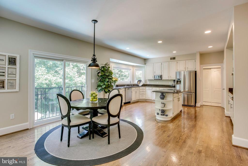 Spacious & open kitchen - 1298 STAMFORD WAY, RESTON