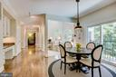 Breakfast area - 1298 STAMFORD WAY, RESTON