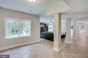Fully finished walk-out lower level - 1298 STAMFORD WAY, RESTON