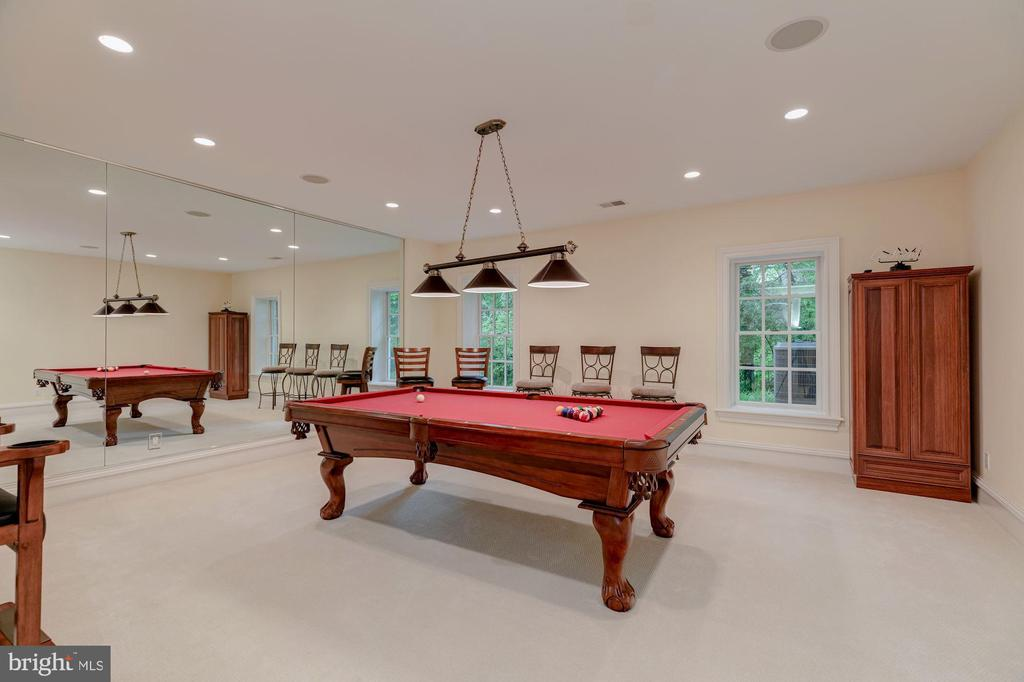 Billiards Room / Exercise Room - 916 MACKALL AVE, MCLEAN