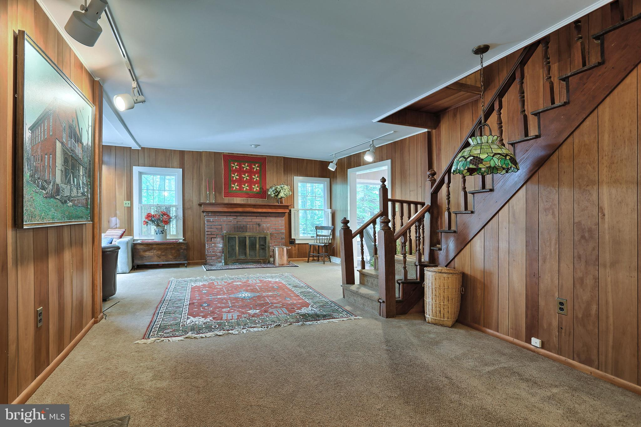 Foyer area of living room