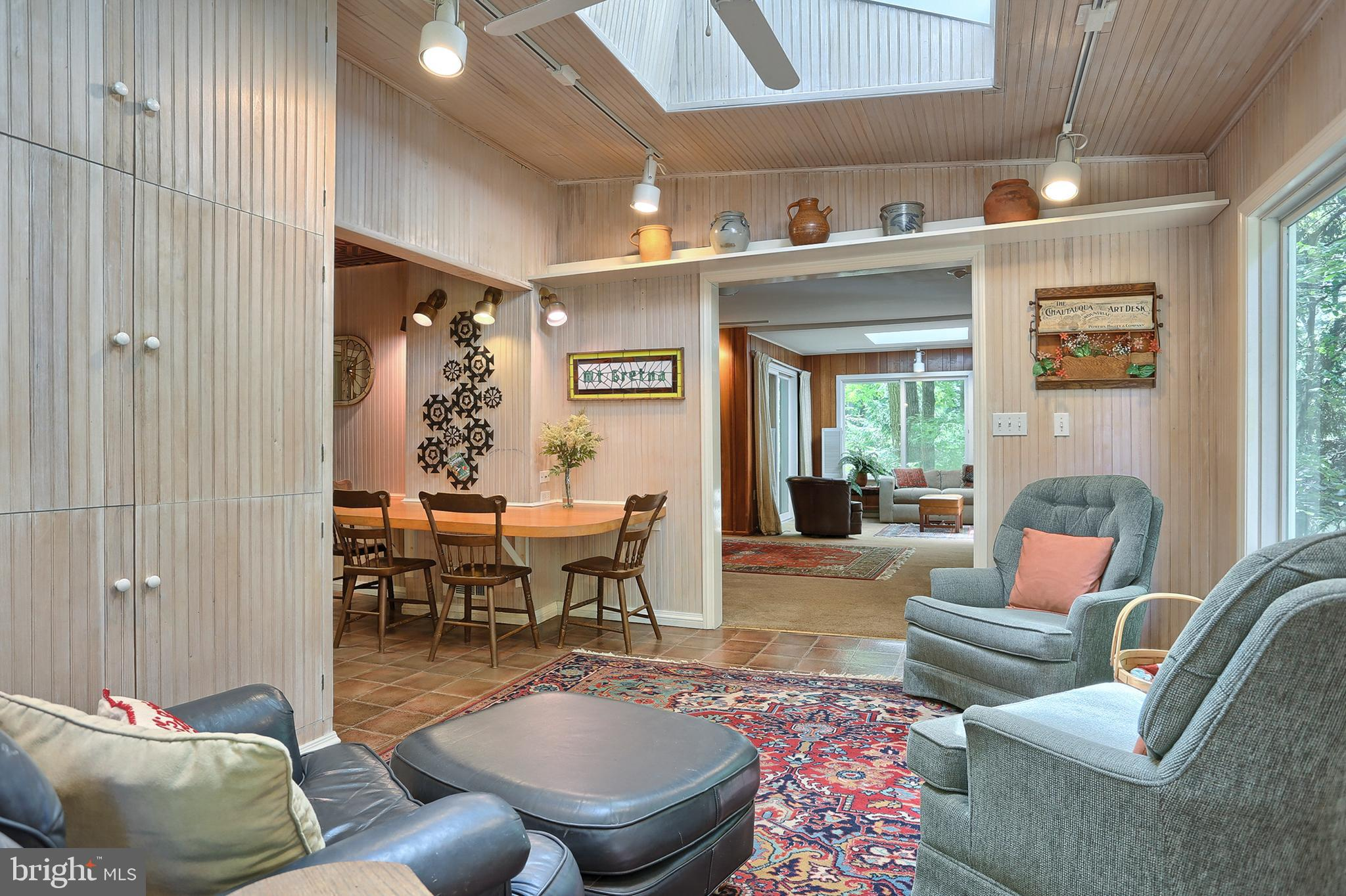 Family room toward living room & kitchen