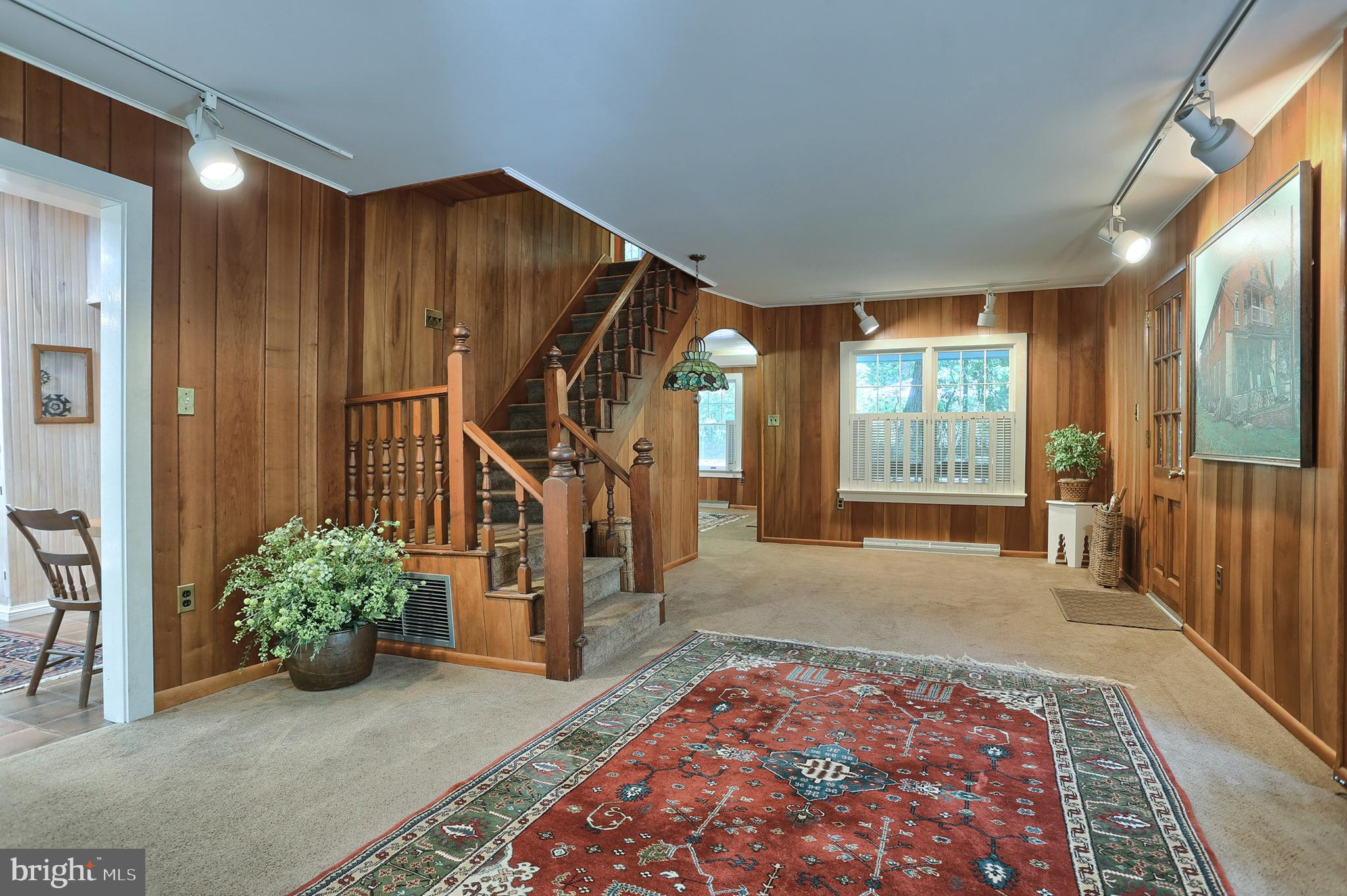 Living Room toward entry area