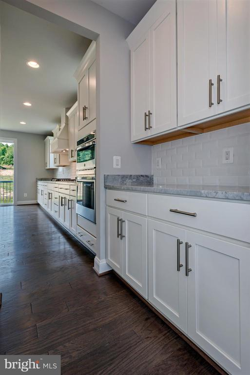 Actual photo of the home. Now move-in ready! - 7773 JULIA TAFT WAY, LORTON