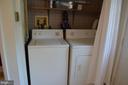 Full-sized laundry on main level - 235 W 5TH ST, FREDERICK