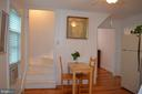 Room for a table in your new kitchen! - 235 W 5TH ST, FREDERICK