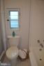 Full bath upstairs new toilet & shower - 235 W 5TH ST, FREDERICK