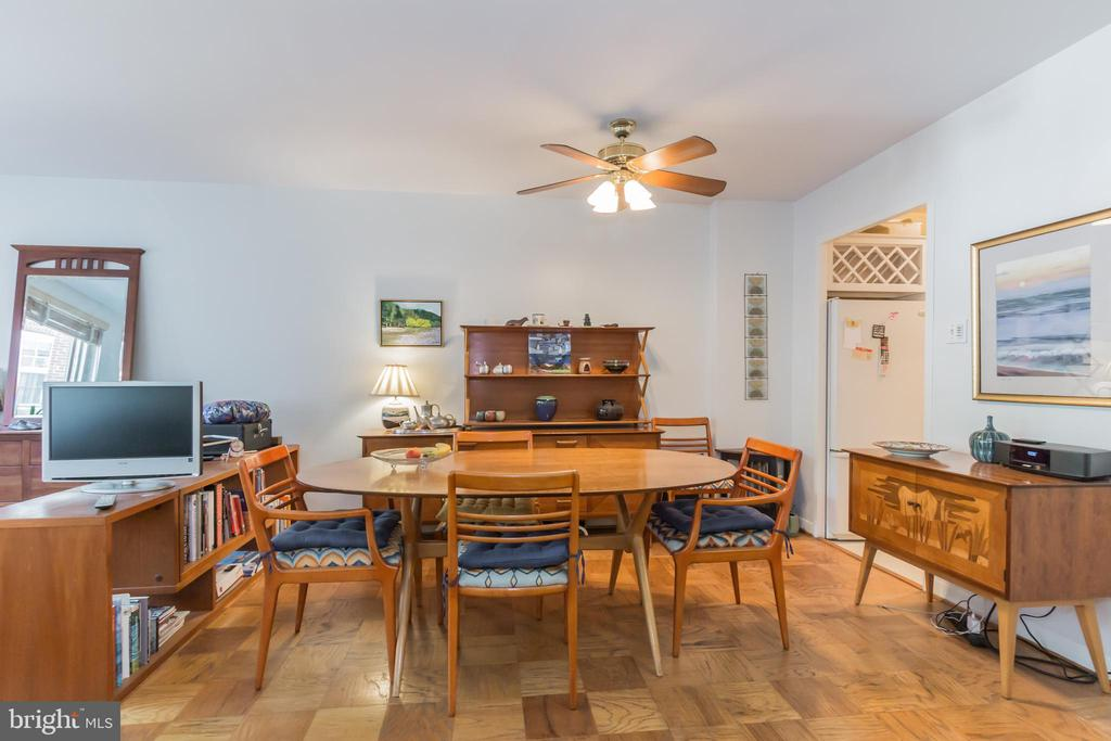 Dedicated dining room - 5406 CONNECTICUT AVE NW #401, WASHINGTON