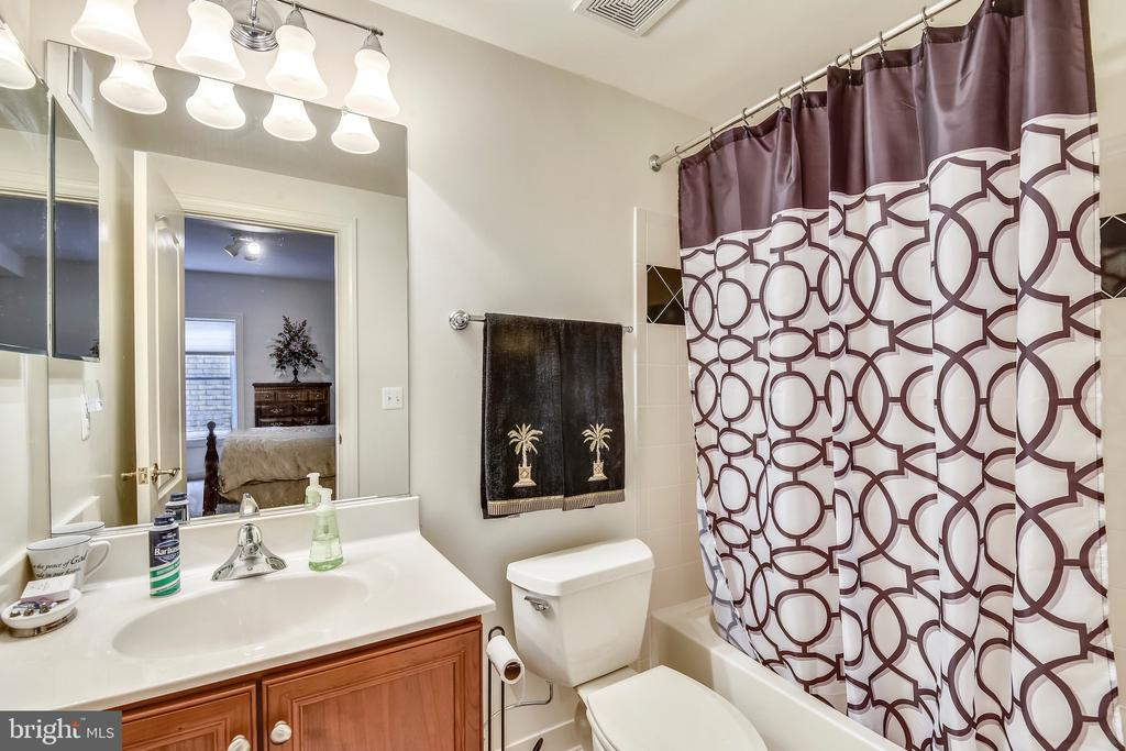 Lower level bathroom - 43552 TUCKAWAY PL, LEESBURG