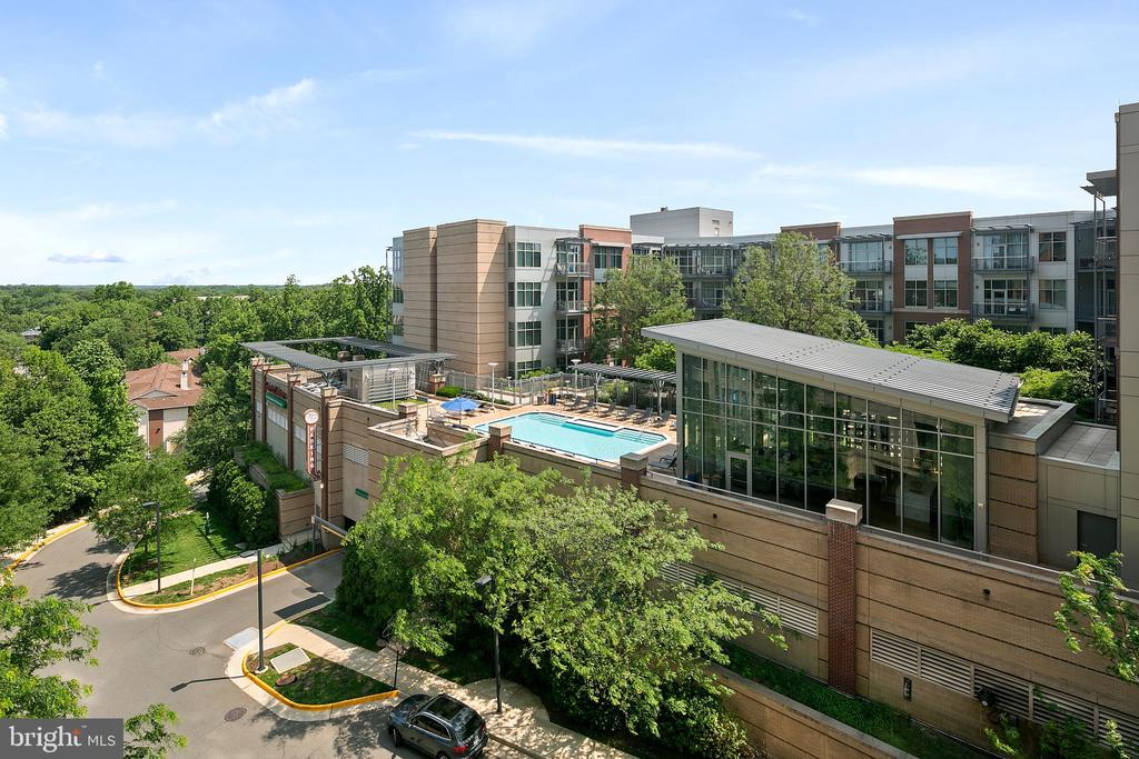 View rom unit - 8220 CRESTWOOD HEIGHTS DR #514, MCLEAN