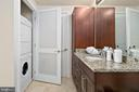 washer dryer included in luxury bath - 8220 CRESTWOOD HEIGHTS DR #514, MCLEAN