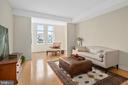 Living and sunroom - 8220 CRESTWOOD HEIGHTS DR #514, MCLEAN