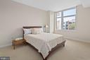 Spacious Master Bedroom - 8220 CRESTWOOD HEIGHTS DR #514, MCLEAN