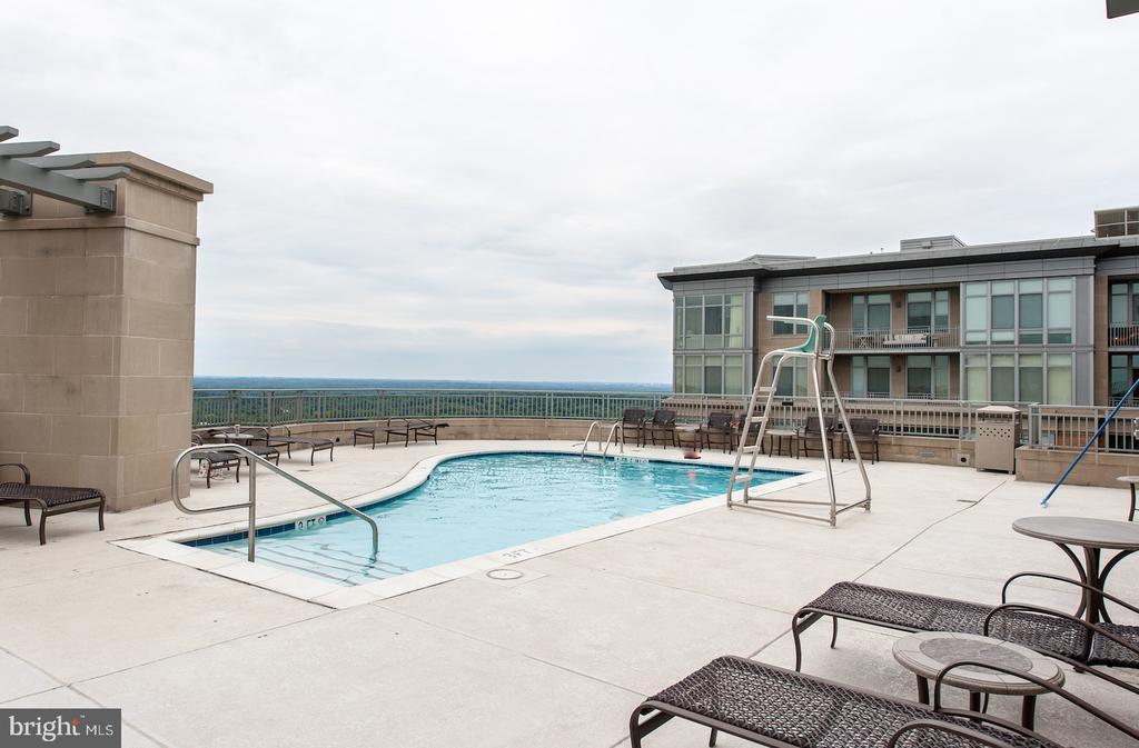 Roof top pool - 8220 CRESTWOOD HEIGHTS DR #514, MCLEAN