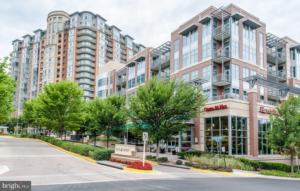 View of 24 hour Harris Teeter next to building - 8220 CRESTWOOD HEIGHTS DR #514, MCLEAN